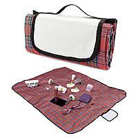 Плед-коврик для пикника Шотландец красный