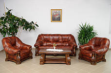 """Класичний комплект меблів """"SANREMO"""" (3р+1+1), фото 3"""