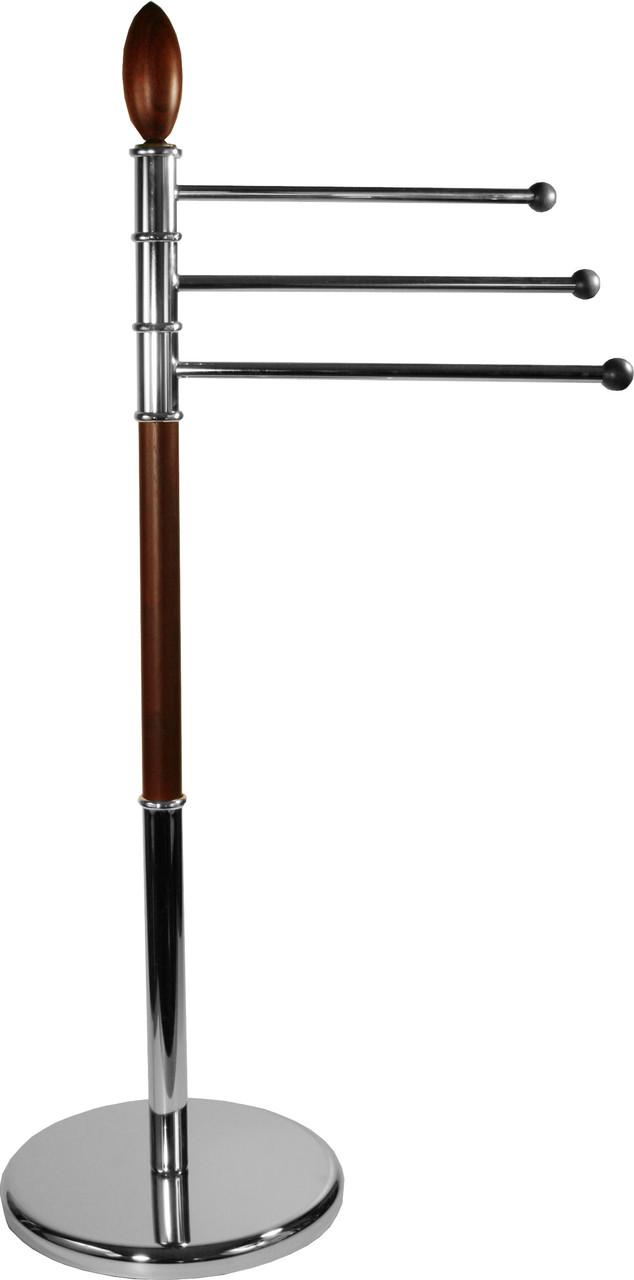 Вішалка для рушників низька з деревом AWD02060169