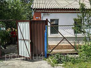 Автоматические откатные ворота со встроенной калиткой, фото 2