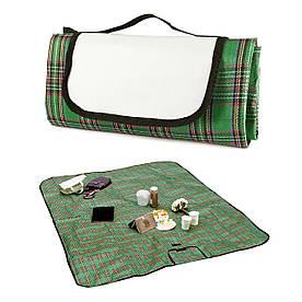 Плед-килимок для пікніка Шотландець зелений
