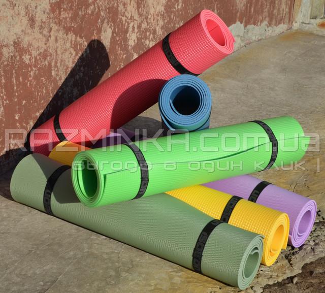 йога мат RELAX, йога мат, йогамат, коврик для йоги, йога коврик, коврик для фитнеса