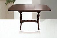 Стол на кухню деревянный раскладной Аврора 101(+35)x69х74 см (орех, венге, белый, ваниль, бежевый)