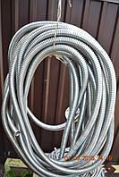 Гофра (металорукав) алюминиевый внутр. диаметр 14