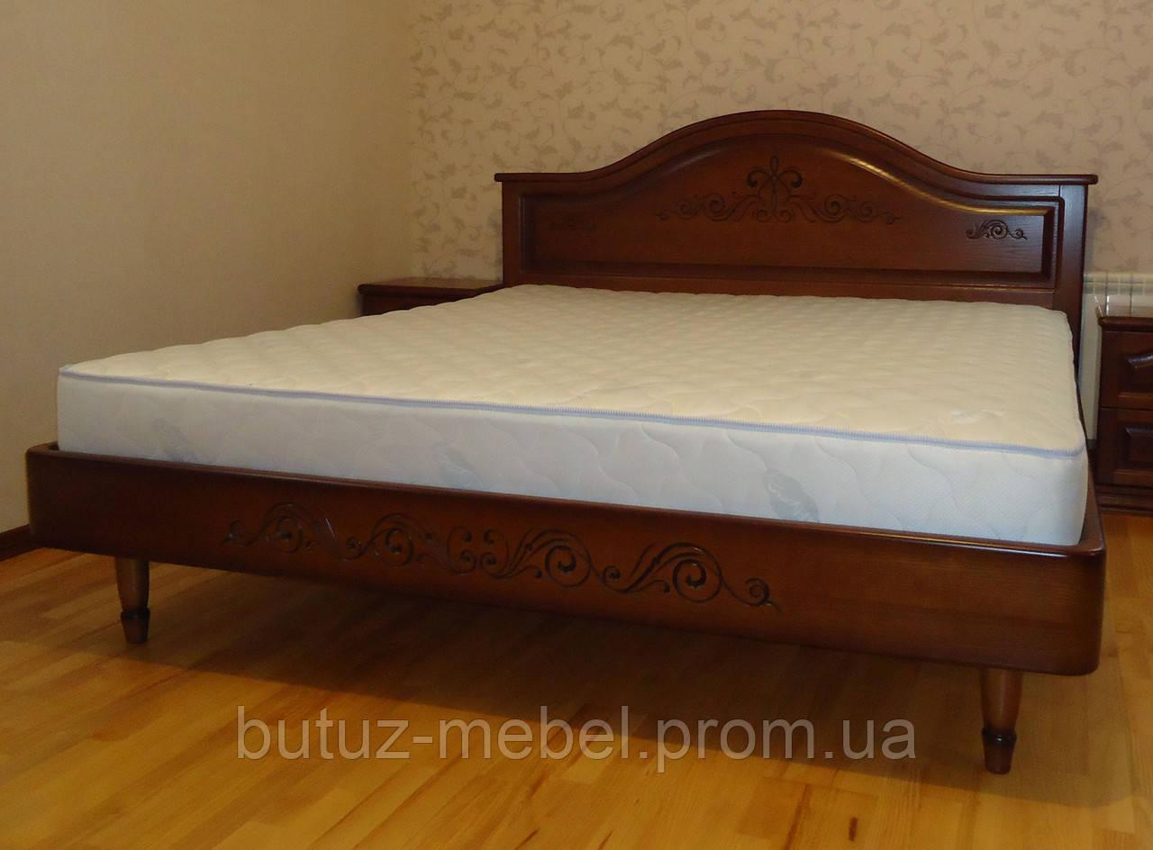 кровать двуспальная деревянная без ящиков виктория продажа цена в