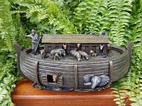 "Статуэтка-шкатулка Veronese ""Ноев ковчег"" (25*13 см) 76675A4"