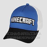 Детская бейсболка Minecraft сетка