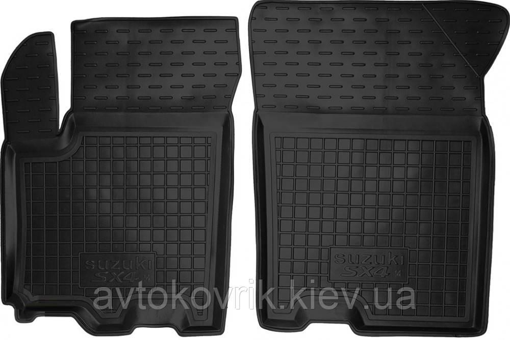Полиуретановые передние коврики в салон Suzuki SX4 II 2014- (AVTO-GUMM)