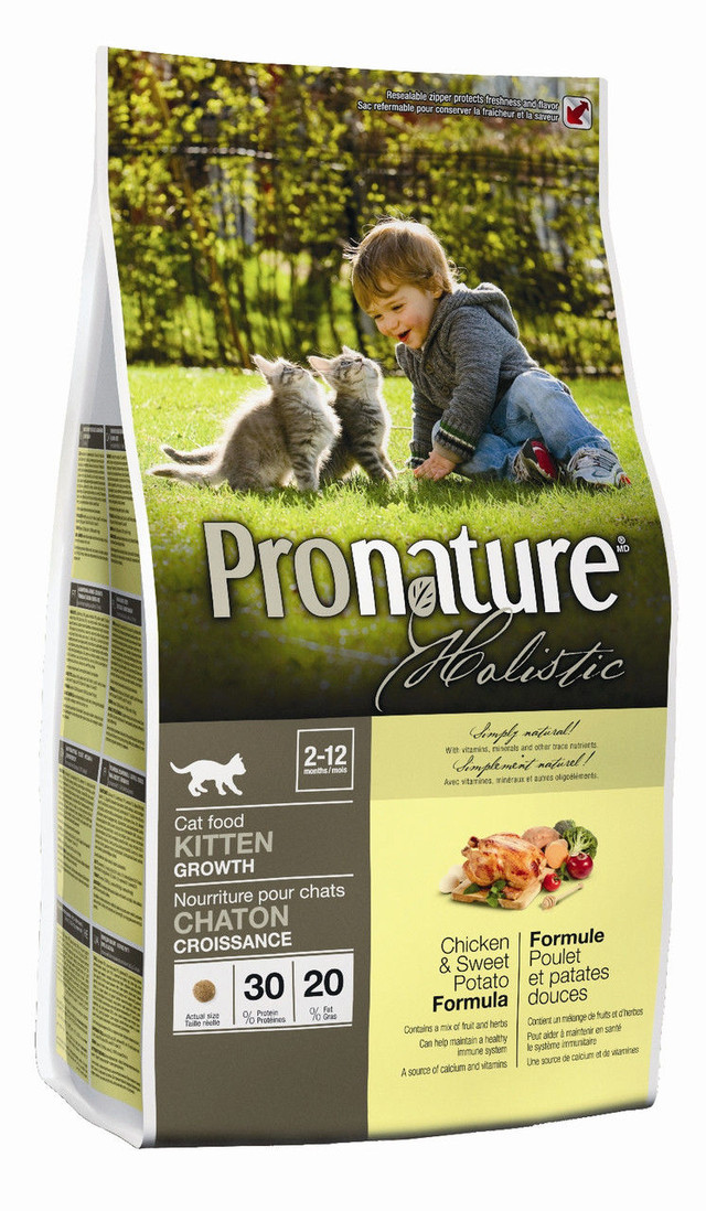 Корм для котят Pronature Holistic Chicken & Sweet Potato