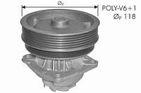 Водяная помпа Protechnic на Fiat Scudo