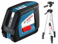Лазерный нивелир BOSCH GLL 2-50 + штатив BS 150 (105)
