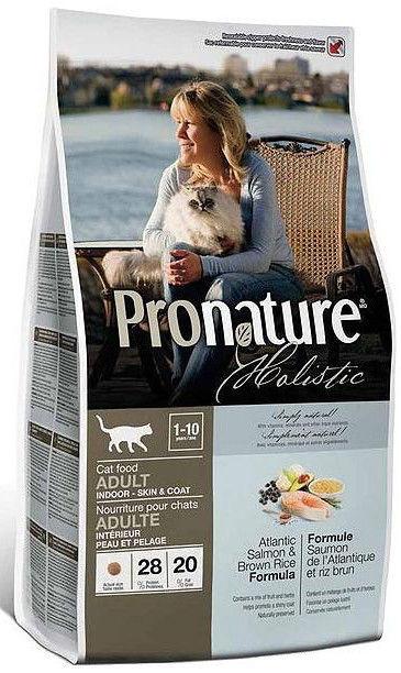 Корм для кошек Pronature Holistic Atlantic Salmon & Brown Rice
