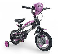 """Беговой велосипед Injusa 2in1 Elite 12002 (12"""" надувные колеса+боковые колеса+каска)"""