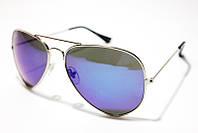Солнцезащитные очки Ray Ban Aviator 3026-1 SM 00168, фиолетовые очки капли
