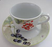 Чашка с блюдцем для чая Olimpia