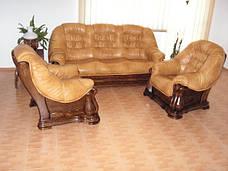 Польська шкіряні меблі MAESTRO (3+1+1), фото 2