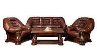 Польская кожаная мебель MAESTRO (3+1+1)