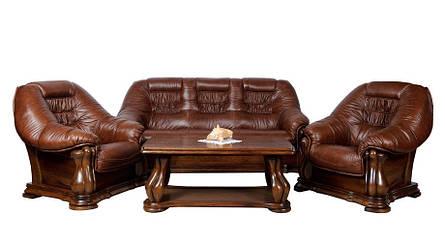 Польская кожаная мебель MAESTRO (3+1+1), фото 2