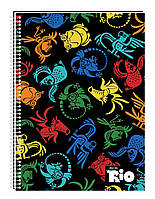 """Блокнот """"Rio"""", А5, 48 листов, RI00274-01, в клетку картон, термобиндер + лак"""
