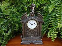 Настольные часы Veronese Ангелочек с бронзовым покрытием 75316A1