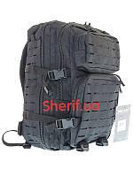 Рюкзак черный штурмовой  36 литров LazerCut Black,MIL-TEC  14002702