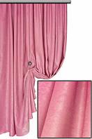 Ткань  блэкаут софт розовый №2