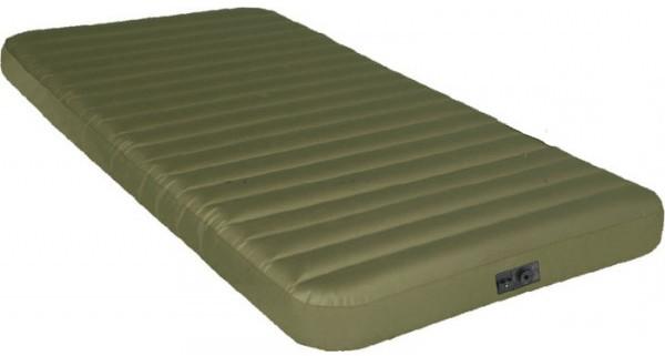 Надувной велюр матрас Intex 191х99х20 см с ножным насосом