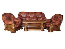 Классическая мягкая мебель Grizzly Hup (3p+1), фото 2