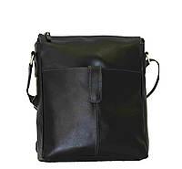 Мужская сумка из натуральной кожи VATTO, черная