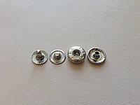 Кнопка альфа, диаметр 12,5 мм, цвет - никель, артикул СК 5016