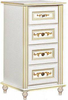 Комод Верона/Verona 590 белый/золото (Скай ТМ), фото 2