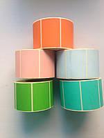 Цветная термоэтикетка, фото 1