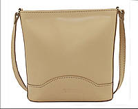Женская сумочка Vatto бежевая из натуральной кожи