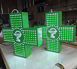 """Аптечний хрест 500х500 світлодіодний односторонній. Серія """"Bowl of Hygieia"""", фото 3"""