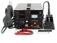 Термоповітряна паяльна станція 3/1 KRAFT&DELE 853D (KD855)