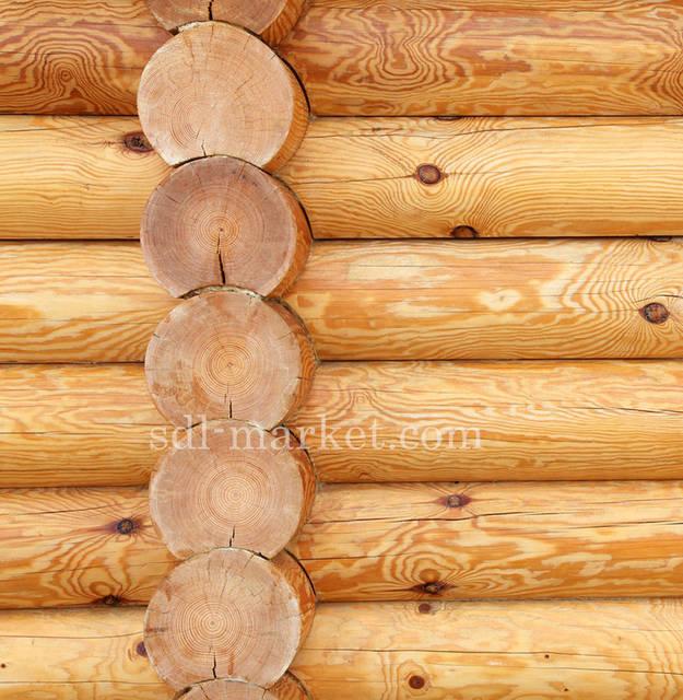 Отделка деревянного дома 2