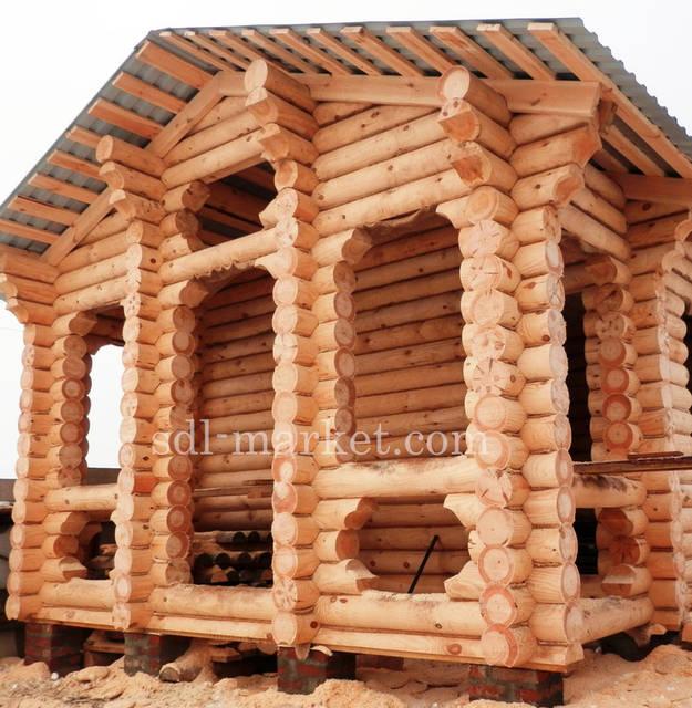 Отделка деревянного дома 3