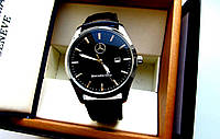 Часы мужские наручные Mercedes-Benz Black, часы недорого