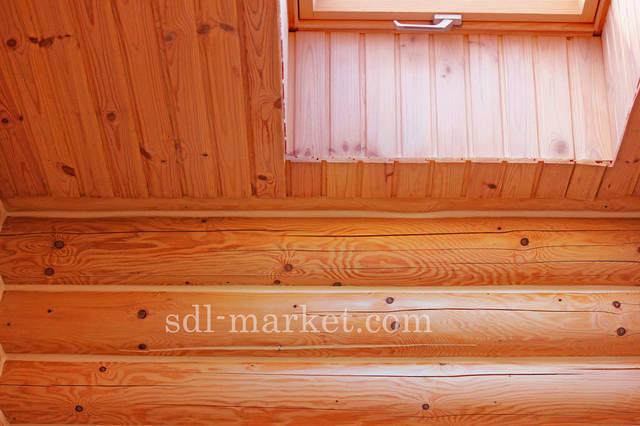 Отделка деревянного дома 4