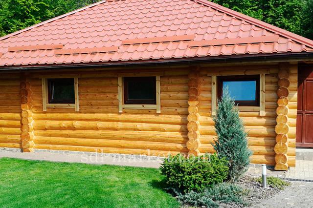Отделка деревянного дома 18