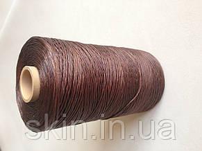 Нитка вощёная, коричневого цвета, толщина - 1 мм, 500 метров, артикул СК 5023, фото 2