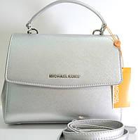 Брендовая женская сумка Michael Kors Майкл Корс серая
