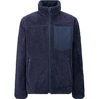 Кофта Uniqlo Men Wind Proof Fleece Jacket Navy