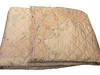 """Покривало """"Blumarine"""" персикового відтінку розміру євро максі, фото 1"""