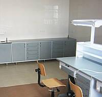 Металлическая мебель. Комплект для зуботехнической лаборатории.