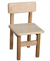 Детский стул из натурального дерева