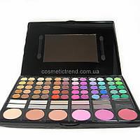 Палитра для макияжа профессиональная (72 теней и 6 румян) P78-02