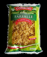 """Макароны из твердых сортов пшеницы Combino  """"Бантики"""" 0,5kg"""