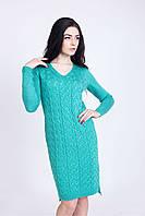 Красивое вязанное платье