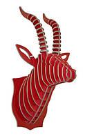 Настенный декор голова антилопы 32*64*34,5  ( разные цвета )